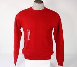 Izod Red Knit Crewneck Sweater Men's Small S NWT $55 - $37.12