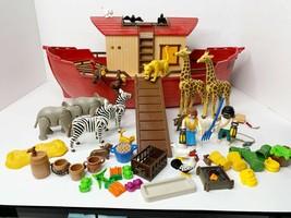 Playmobil 3255 Noah's Ark 99% Complete - $57.87