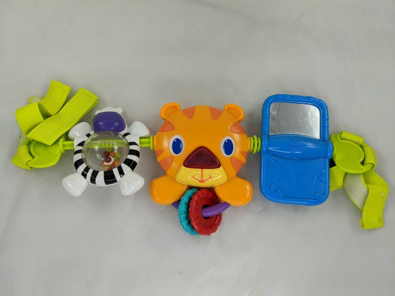 Primary image for Bright Starts Tiger Musical Stroller Toy