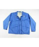 Vintage 80s LL Bean Mens XL Stowaway Rainwear Goretex Full Zip Rain Jack... - $53.41