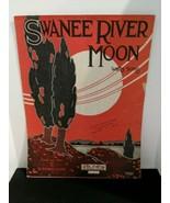 Swanee River Moon Waltz Song By H. Pitman Clarke Sheet Music - $9.41