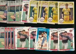 1981 1985 1987 1988 1989  Fleer Bert Blyleven Twins Lot of 30 - $2.79