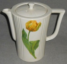 1920s-30s Enterprise Aluminum Co DRIP-O-LATOR Tulip Motif COFFEE POT Ohio - $39.59