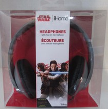 iHome DISNEY STAR WARS Headphones with Line In Microphone - First Forces - $12.30