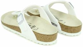 Brand New Authentic Birkenstock Gizeh BS White Women's Thong Sandals image 6