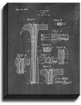 Hammer Patent Print Chalkboard on Canvas - $39.95+