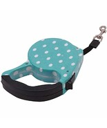 5M Blue Dots Pet Dog/Cat Puppy Automatic Retractable Traction Rope Train... - $21.78