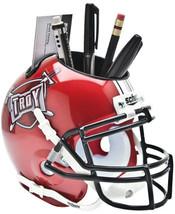 Troy State Trojans NCAA Football Schutt Mini Helmet Desk Caddy - $21.95