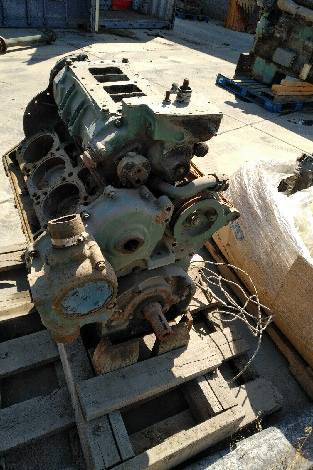 Primary image for Detroit Diesel 6V92 Diesel Engine Core Used