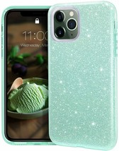 MATEPROX iPhone 11 Case, Bling and Sparkle for iPhone 11 Pro 5.8 inch (Green)