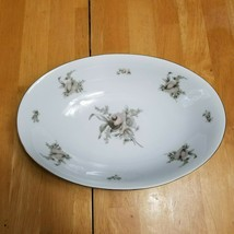 Rosenthal Continental Colonial Rose China Serving Bowl Pink Beige Roses  - $9.89