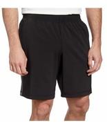 Kirkland Men's Active Moisture Wicking Shorts Black  Sz M - $13.79