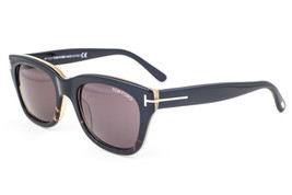 Tom Ford Snowdon Black Havana / Brown Gradient Sunglasses TF237 05J 50mm - $214.62