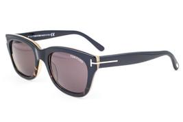 Tom Ford Snowdon Black Havana / Brown Gradient Sunglasses TF237 05J 50mm - $214.62