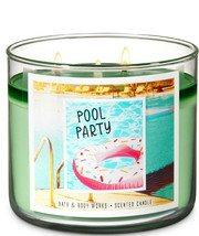 Bath & Body Works Pool Party Three Wick 14.5 Ounces Scented Candle - $22.49