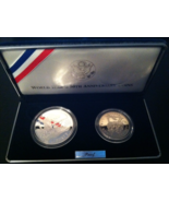 1993 World War II 50th Anniversary Coin Set Sealed in Air Tight Cases - $65.50