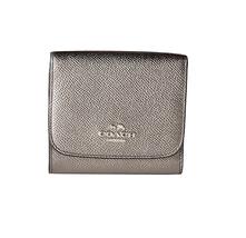 COACH Small Wallet Silver / Gunmetal - $74.00