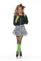 Underwraps Rockin The 80s Madonna Falda Adulto Mujer Disfraz Halloween 2... - $32.53