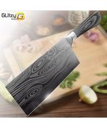 Kitchen Knife 5 7 8 inch 7Cr17 440C Stainless Steel Utility Cleaver Chef... - $55.92+