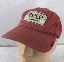 Vtg Polo Sport Hat Cap Beach Club Hawaii Ralph Lauren RL 67 90's Spell Out - $247.49