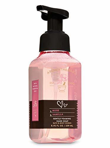Bath Body Works Gentle Foaming Hand Soap Aromatherapy Rose Vanilla