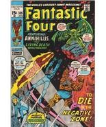 The Fantastic Four Comic Book #109 Marvel Comics 1971 VERY FINE+ - $53.13