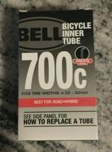 Bell Bicycle Inner Tube, Presta Valve 700 X 25-32C, Road Use 7064275 NEW SEALED - $9.85