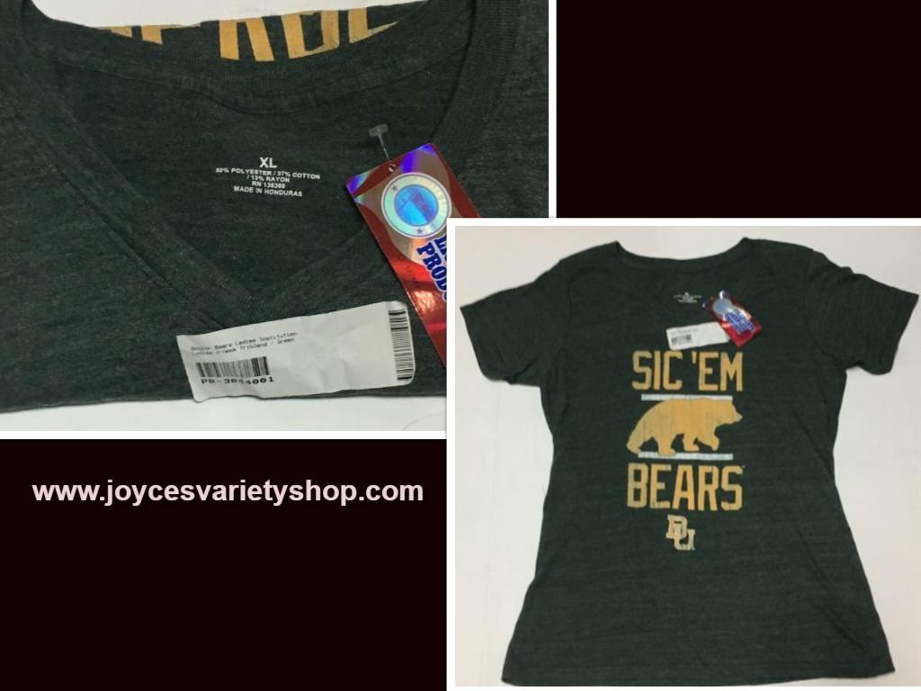 Baylor bears shirt web collage