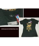 Baylor Bears Collegiate Women's T-Shirt V-Neck Top Sz XL Green - $11.99