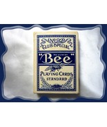 1 Vtg Blue Bee No. 92 Club Special Playing Cards Standard Cambric Finish... - $9.00
