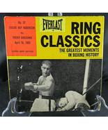 Ring Classics #37 Sugar Ray Robinson VS Rocky Graziano Greatest Moments ... - $75.00