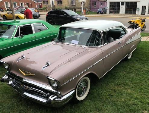 1957 Chevy Bel Air - For Sale In Monticello, WI 53575