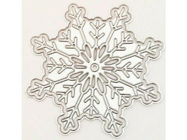 Snowflake with Outline Die Set