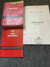 1994 ford mustang service repair workshop manual set with wiring diagram - $91.68