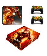 PS4 Pro Console Dualshock Skin DC Comic The Fla... - $12.00