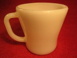 Fire King Coffee Cup Mug White 9 Oz [Z183b] - $3.99
