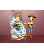 "Burger King DISNEY TOY STORY Woody-1 new 1 w/o rope 5.75"" long; 1 plasti... - $15.90"