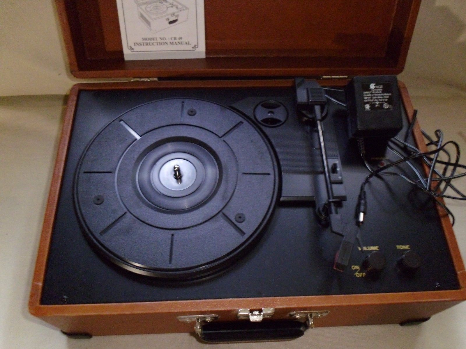 Crosley Cr49 Turntable Portable Record And Similar Items