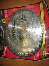 """Craftsman 9 29283 Carbide 10"""" 40 tooth and 28 tooth Table Saw Blades New... - $15.79"""