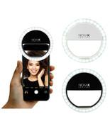 NK Selfie Light LED Camera Video 3 Level Brightness for Smartphones Flas... - $7.95