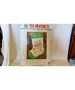 Away In A Manger Applique Felt Needlepoint Kit #18019 Sunset Stitchery BNOS - $22.28