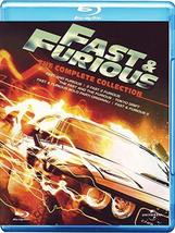 Fast & Furious Collection 1-5 [Blu-ray]