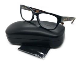 Coach Eyeglass Frame HC6104 5449 Black Dark Tortoise 52-16-140 New & Authentic - $77.57