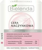 Bielenda Capillary Skin Anti Redness Face Cream SPIDER VEINS Repair Day ... - $16.07