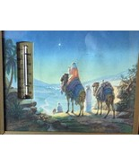 Star of Bethlehem Vintage Advertising Thermometer Picture Souvenir Christmas - $29.39