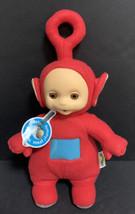Red Teletubbies Po Talking Plush Hasbro Playskool 12-Inch Stuffed Toy 19... - $37.39