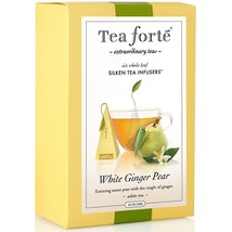 Tea Forte White Ginger Pear White Tea - Event Box, 48 Infusers - 4 x 48 Infusers - $251.66