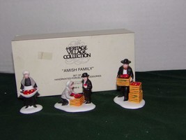 Retired Dept 56 New England Village - Amish Family - $11.76