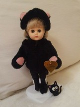"Vintage 8"" Vogue Ginny ""Cat & Mouse Series"" w Stand missing mouse FREE CAT - $32.73"