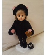 """Vintage 8"""" Vogue Ginny """"Cat & Mouse Series"""" w Stand missing mouse FREE CAT - $32.73"""